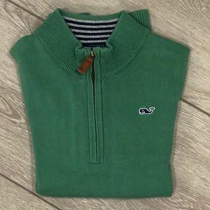 Vineyard Vines Shirts & Tops - Vineyard Vines Boys Classic Zip Mock Neck Sweater